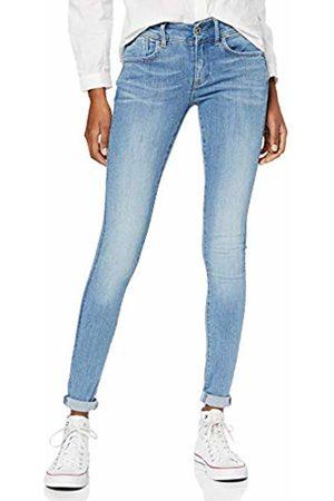 G-Star Women's Lynn Mid Waist Super Skinny Jeans, (Sun Faded 9136-A587)