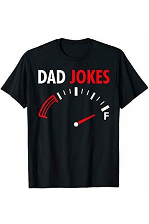 Funny Dad Fathers Day Shirts Full Tank Of Dad Jokes Funny Dad's Birthday Fathers Day Gift T-Shirt
