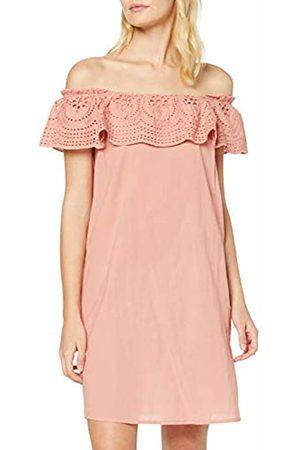 Dorothy Perkins Women's BROIDERIE Frill Dress (Blush 30)