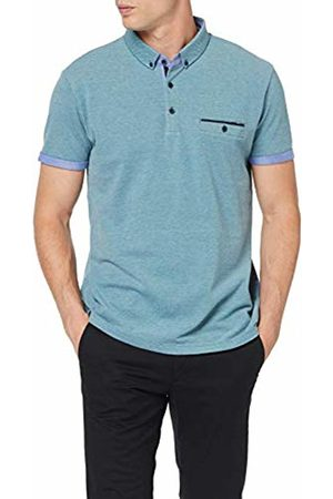 Esprit Men's 059EE2K017 Polo Shirt, (Petrol 450)