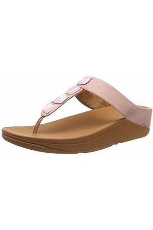 Reebok Women's Roka Toe-Thong T-Bar Sandals, (Dusky 535)