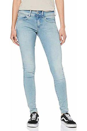 G-Star Women's Lynn D-mid Super Skinny Wmn Skinny Skinny Jeans, (Lt Aged 424)