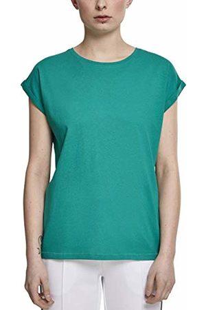 Urban classics Women's Ladies Extended Shoulder Tee T-Shirt, (Fresh 00471)