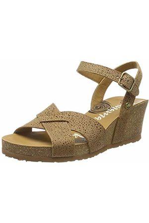 Panama Jack Women's Vika Roses Ankle Strap Sandals