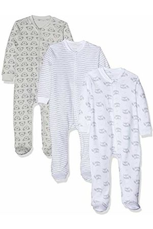 CARE LABEL Baby Romper with Zip 3-pack