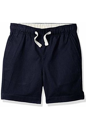 LOOK by crewcuts Boys' Pull on Chino Short (Navy)