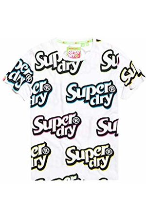 Superdry Men's Spectrum Graphics Mid Tee Kniited Tank Top