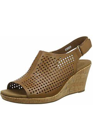 Rockport Women's Briah Perforated Sling Back Platform Sandals