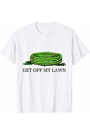 Flippin Sweet Gear Get off My Lawn Gadsden Flag Lawn Care T-Shirt
