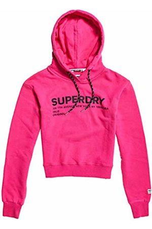 Superdry Women's Elissa Cropped Hood Sports Hoodie, Sienna Q4m