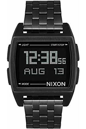 Nixon Mens Digital Quartz Watch with Stainless Steel Strap A1107-001-00