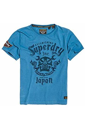 Superdry Men's Motor Club Mid Tee Kniited Tank Top, (Antique U4k)