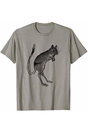 The New Antique Hopping Kangaroo Rat Print T-Shirt