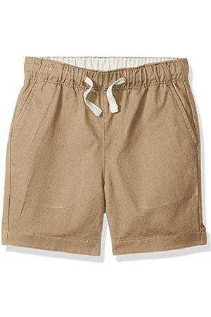 LOOK by crewcuts Boys' Pull on Chino Short (Khaki)