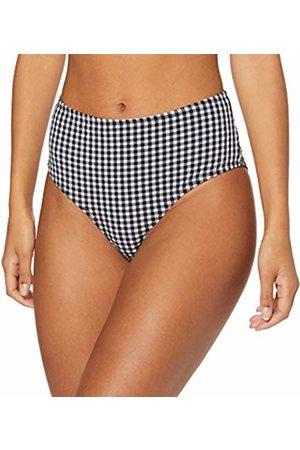 warehouse Women's Gingham High Waisted Bikini Bottoms