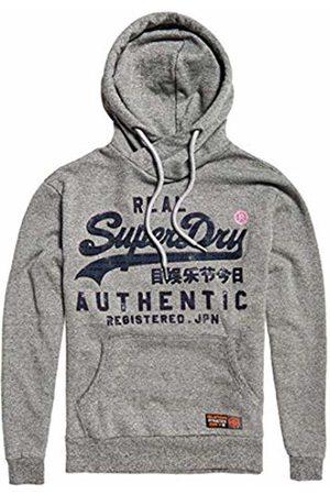 Superdry Men's Reactive Classic Hood Sports Hoodie, (Phoenix Grit Kbz)