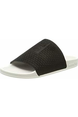 adidas Women's Adilette Luxe W Beach & Pool Shoes, Core /Off