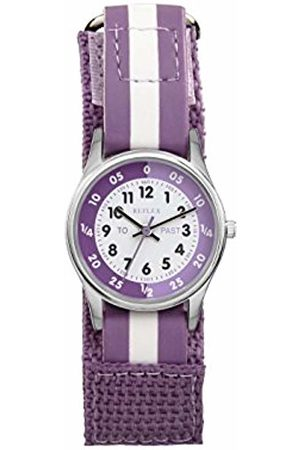 Reflex Girls Analogue Classic Quartz Watch with Textile Strap REFK0004