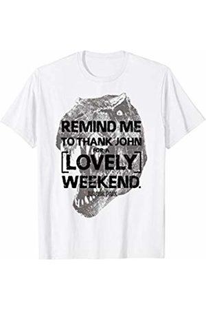 Jurassic Park Remind Me To Thank John T-Shirt