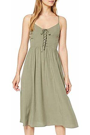 New Look Women's Print Lattice Front Dress