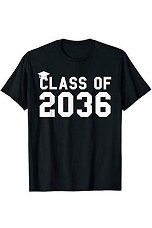 Class of 2036 Graduation Kindergarten Tee Shirts Class of 2036 Grow With Me Shirt First Day of School T-Shirt