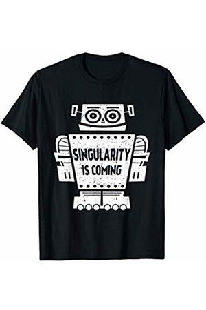 b2519a5c7c97 Artificial Intelligence Shirt Singularity is Coming T-shirt - Artificial  Intelligence T-Shirt .