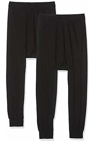Trigema Men's Herren 3/4 Unterhose Doppelpack Thermal Trousers - - Large