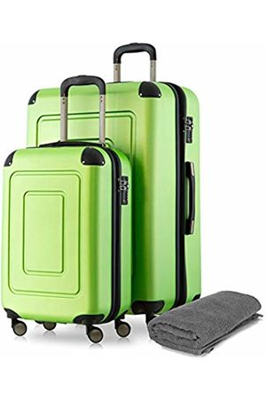 Happy Trolley Lugano Luggage Set, 76 cm