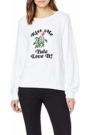 Wild Fox Wildfox Women's Yule Love It! It Jumper, Clean Cwht