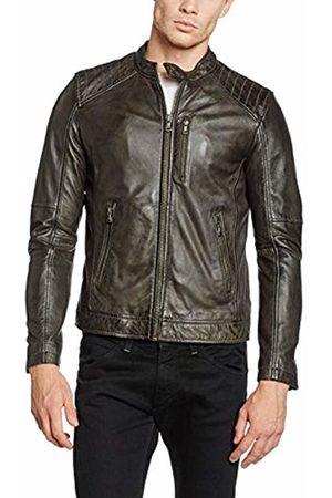 Oakwood Men's 62058 Coat, (Gris Foncé)
