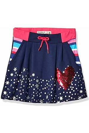 Desigual Girl Knit Skirt Short (FAL_grevalosa)