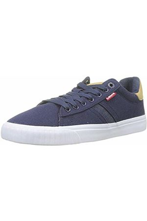 Levi's Footwear and Accessories Men's's Skinner Trainers Navy 17 7.5 UK