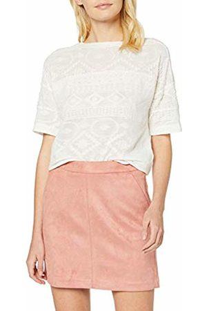Vero Moda NOS Women's Vmdonnadina Faux Suede Short Skirt Noos Old Rose