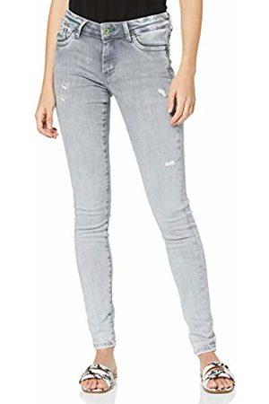 Pepe Jeans Women's Pixie Pl200025 Skinny Jeans, ( Destroy Wiser Wash Denim Wu9)