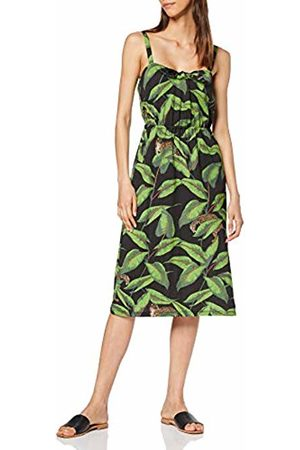 warehouse Women's Pique Banana Leaf Midi Dress, ( 76)