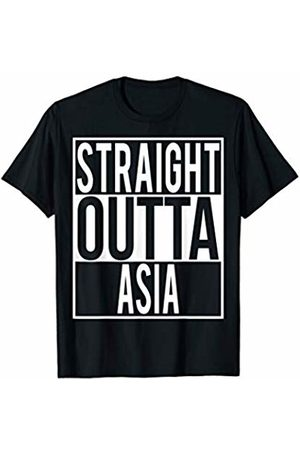 Straight Outta Clothing STRAIGHT OUTTA ASIA Country Name T-Shirt