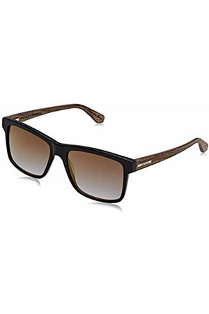 Wood Fellas Unisex Adults' Sunglasses Basic Blumenberg ( Mirror/ /Walnut)