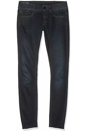 G-Star Women's Lynn Zip Pocket Mid Waist Skinny Jeans