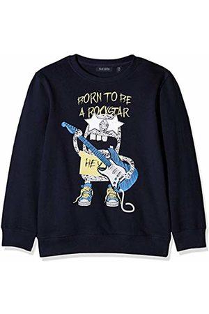 Blue Seven Boy's Sweatshirt, Rundhals (Nachtblau 590)
