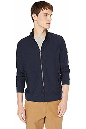 HUGO BOSS Men's Zaldo Sweatshirt, (Dark 404)