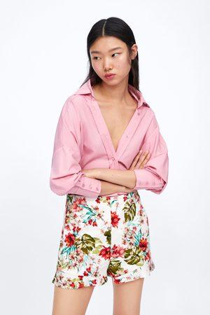 d8a78c2ec4 Zara floral women's bermudas, compare prices and buy online