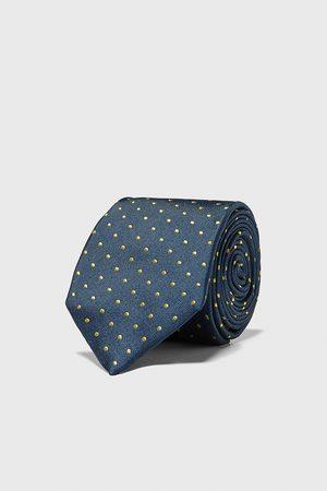 Zara Polka dot wide tie