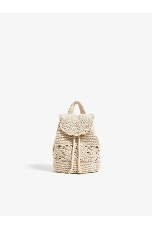 Zara Crochet backpack