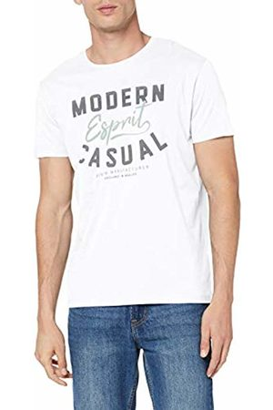 Esprit Men's 059ee2k031 T-Shirt, ( 100)