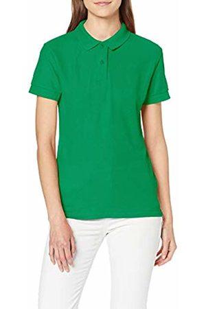 Gildan Women's DryBlend Ladies Double Pique Polo Shirt, (Irish )