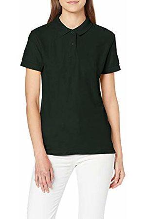 Gildan Women's DryBlend Ladies Double Pique Polo Shirt, (Forest )
