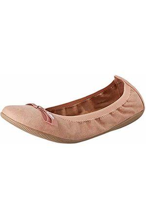 Les P'tites Bombes Women's Ella Velours Closed Toe Ballet Flats 7/7.5 UK