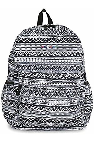 J World New York Oz Campus Backpack Casual Daypack, 17 cm