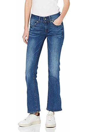 G-Star Women's Midge Saddle Mid Waist Bootcut Jeans, (Faded 6553-A889)