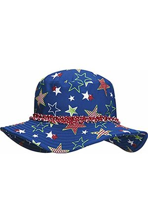 Playshoes Girl's UV Protection Sun Hat, Swim Cap Stars